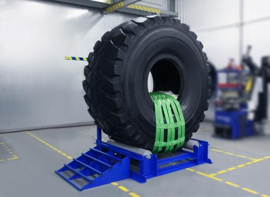 Вулканизационный комплекс для ремонта крупногабаритных грузовых и карьерных шин ТП КГШ-800