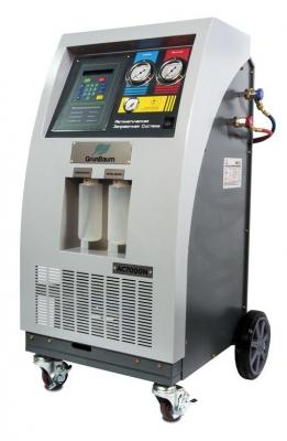 Установка для заправки автокондиционеров  Grunbaum AC7000N,автоматическая R134