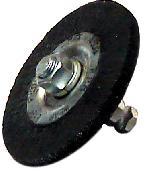 Щетка обрезиненная 75х6 мм с быстросъемом